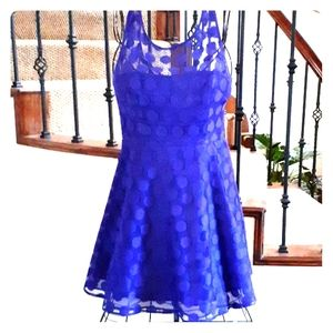 Betsey Johnson Bluish Purple Dress